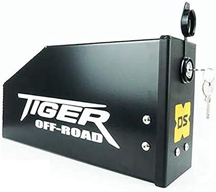 Raid Toolbox - Caja de Herramientas Tiger 800 (ANODIZADO Negro ...