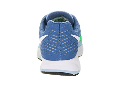 Nike Kvinna Air Zoom Pegasus 33 Bluecap / Ocean Dimma / Rage Grön / Vit
