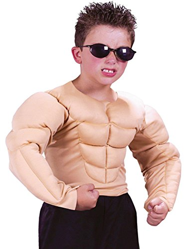 Halloween Muscle Shirt (Muscle Man Shirt Child - Large (12-14))