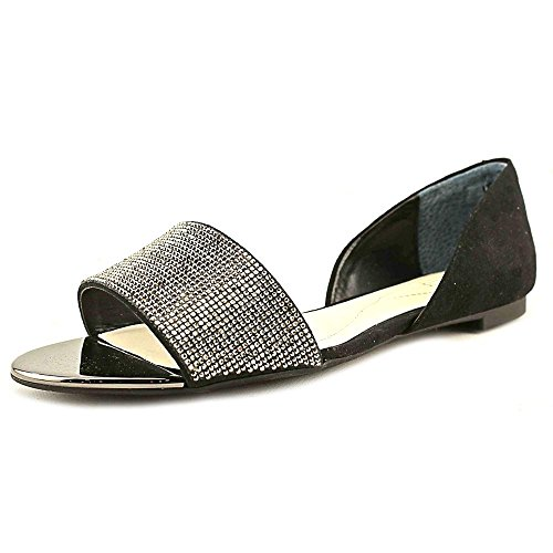 Open Toe Appartamenti Alfani Donna Nero Bling 7.5m