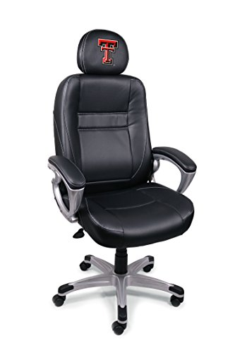 (NCAA Texas Tech Red Raiders Leather Office Chair)