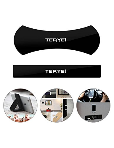 Cell Phone Holder, Teryei Cell Phone Stand Mount,Phone Holder for Car, Gel Pads,Nano Pad Cell Phone Pads Universal Sticker, Multi-Function Mobile Phone Holder Sticky Anti-Slip Stick to Anywhere