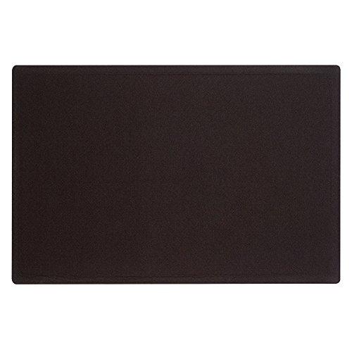 Quartet Bulletin Board, 4 x 3 Feet, Frameless, Fabric, Office Bulletin Boards, Black (7684BK)