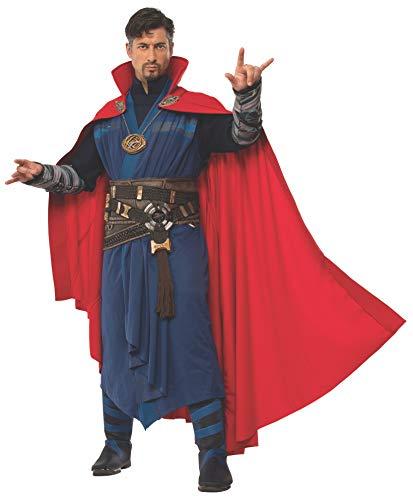 Rubie's Costume Co Men's Doctor Strange Deluxe Cloak Of Levitation, Red, One Size