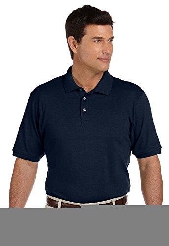 [Men's 6.5 oz. Ring spun Cotton Piqu¨¦ Short-Sleeve Polo] (Arab Money Costume)