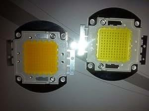 EastVita 100W High Power LED Panel Bead Lamp Chip Warm White Bulb For Flood Light