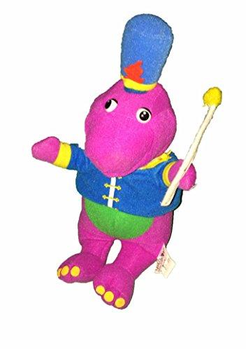 Barney and Friends Band Leader Barney Plush (Riff Plush)