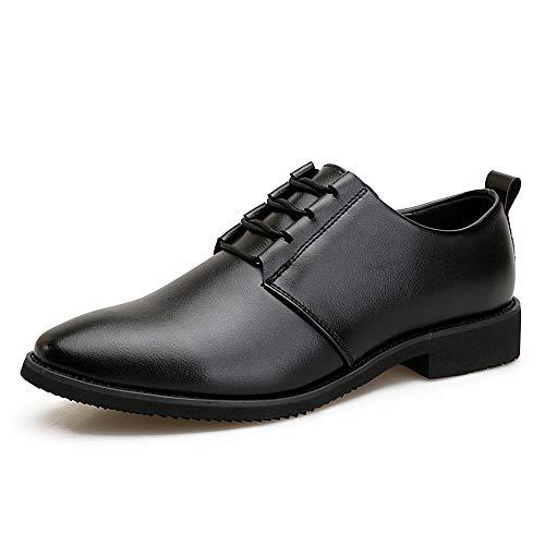 Scarpe 39 Nero uomo e Oxford vivere Dimensione shoes Nero compagnia casa da traspiranti morbide da Uomo Pelle Color camminare Scarpe 2018 e EU uomo Jiuyue in nuove per nHgq4nw