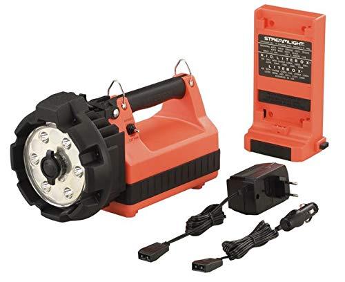 Streamlight E-Flood LiteBox HL Standard System, 230V AC/12V DC, Shoulder Strap & Mounting Rack, Orange (STL-45662)