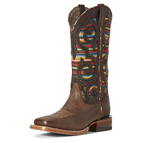 (ARIAT Women's Baja Venttek Western Boot Weathered Russet Size 7 B/Medium Us)