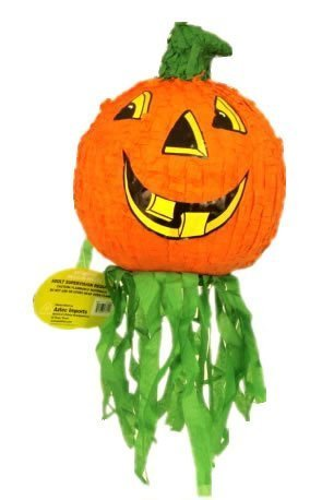 Halloween Jack-O-Lantern Pumpkin Pinata, Party Game, Centerpiece Decoration and Photo Prop (Top Halloween Pumpkin Carvings)