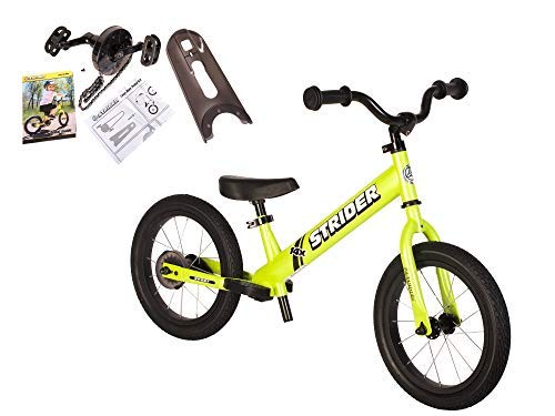 Strider - 14X 2-in-1 Balance to Pedal Bike Kit, Fantastic Green ()