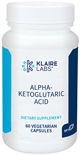 Klaire Labs Alpha-Ketoglutaric Acid – 300 mg Hypoallergenic, 60 Capsules For Sale