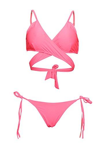 New 2 Piece Girls Swimsuit - 2