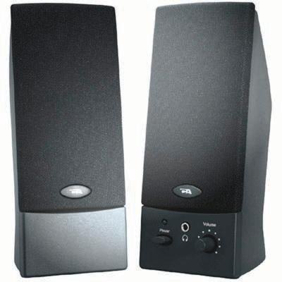 Cyber Acoustics - 2.0 Black OEM USB Speakers