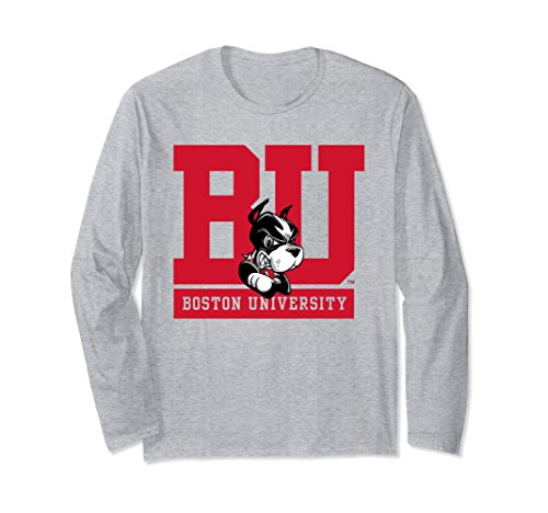 Unisex Boston University Terriers BU Women's NCAA T-Shirt RYLBU06 Medium Heather Grey Cheers Boston T-shirt
