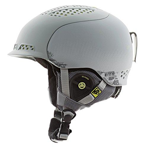 K2 Diversion Ski Helmet, Gray, Small