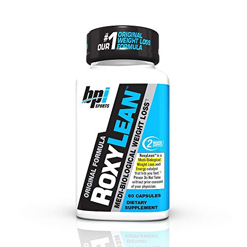 BPI Sports -Roxylean Extreme Fat Burner & Weight Loss Supplement, 60Count