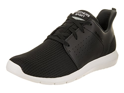 Skechers 10 Black Men's Foreflex Shoe White US Casual 5 Men RcqrRFTw6