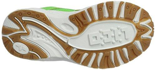 LicoBob Vs - Zapatillas de Balonmano Niños Verde (Gruen/blau)