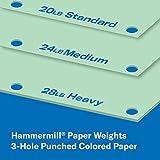 Hammermill Colored Paper, 20 lb Green Printer
