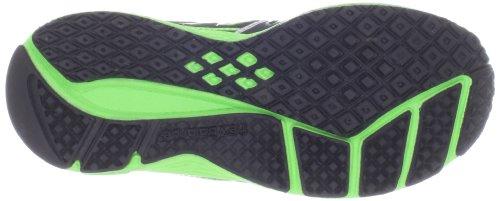 New Balance KJ890 282780-40 Unisex-Kinder Sneaker Black with Neon Green