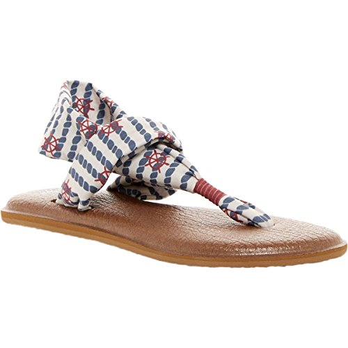 Sanuk Yoga Sling 2 Prints Sandal - Women's Natural Knot The Line, 6.0