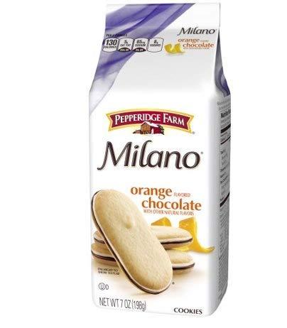 - Pepperidge Farm Orange Milano Cookies, 7-Ounce (Pack of 4)