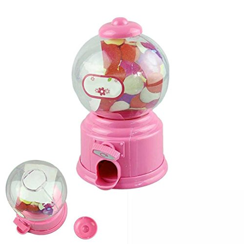 sic Vintage Double Bubble Gum Machine Bank Candy Dispenser Gumball Toy (Pink) (Vintage Guitars Net)