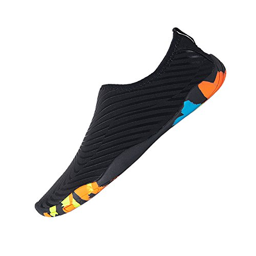 Dry Outdoor Bl Quick for Yoga Swimming Beach black Women's Shoes Water Shoes Men Exercise Socks Aqua YALOX Barefoot Surfing xwzAqpvTng