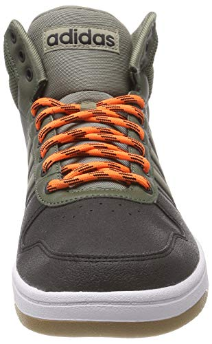 base Cargo Mid Vert 2 S18 0 Trace Pour Hoops Orange res Adidas Baskets Hi Homme w8qSn