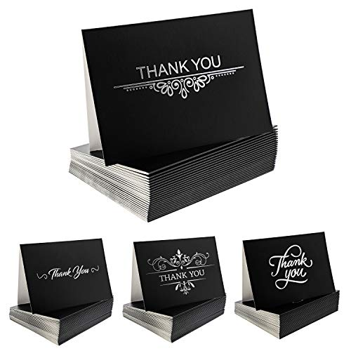 Precious Life Best Thank You Cards 100 Count Bulk Blank Note Card