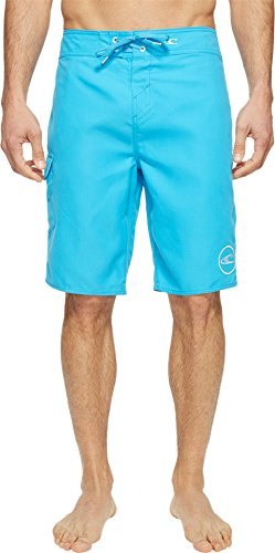 O'Neill Men's Santa Cruz Solid 2.0 Boardshorts Cyan 36 (Cyan Shorts)