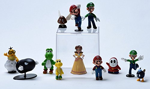 Kids Toy - Action Figure Toy- PVC Action Figures Toy Lovely Doll - Best Gift for Kids (12 pcs Mario Bros)