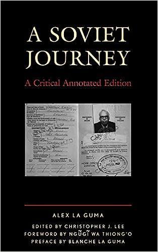 A Soviet Journey  A Critical Annotated Edition (Critical Africana Studies)  Critical 20f0d4de3dcc9