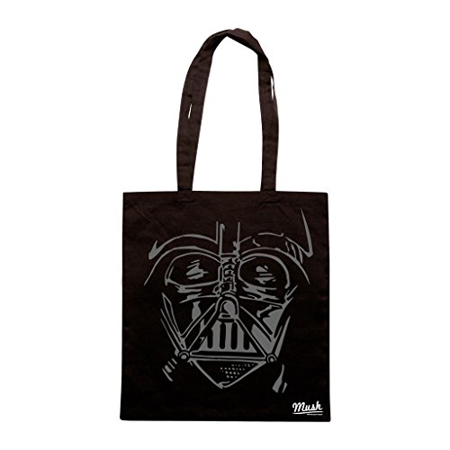 Borsa Darth Vader Face - Nera - Film by Mush Dress Your Style