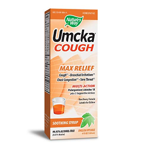 Nature's Way Umcka Cough Max Relief Syrup, 4 Ounce