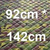 QCYM Universal Camouflage Car Window Sunshade Foil Waterproof Plus Cotton Thickening Car Covers Sun Reflective Snow Windshield Light camouflage S