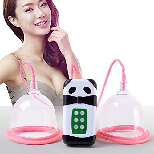 XGuang Wireless Breast Massager, USB Electric Vibration Breast Enlargement with Hot Compress Function for Chest Enlargement Anti Sagging Breast Enhancement Instrument,Dcup14.5