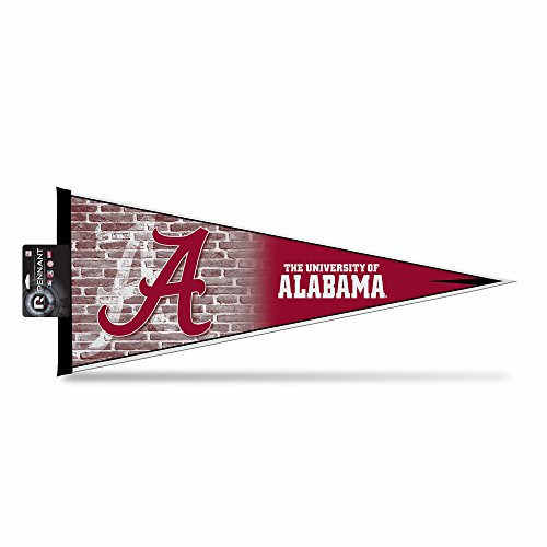 Rico Industries NCAA Alabama Crimson Tide 12-Inch by 30-Inch Classic Pennant Décor