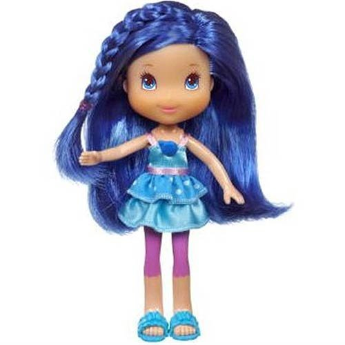Hasbro, Strawberry Shortcake, Garden Pretty Doll, Blueberry Muffin, 7 Inches ()