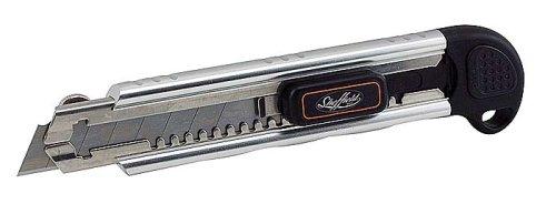 (Sheffield 12250 18mm Sure Grip Snap Blade Knife)