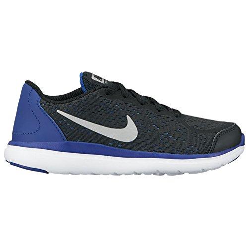 school metallic Boy's Pre Shoe deep Black Silver Blue ps 2017 Run Royal Flex Nike n1CTzYqw4Y