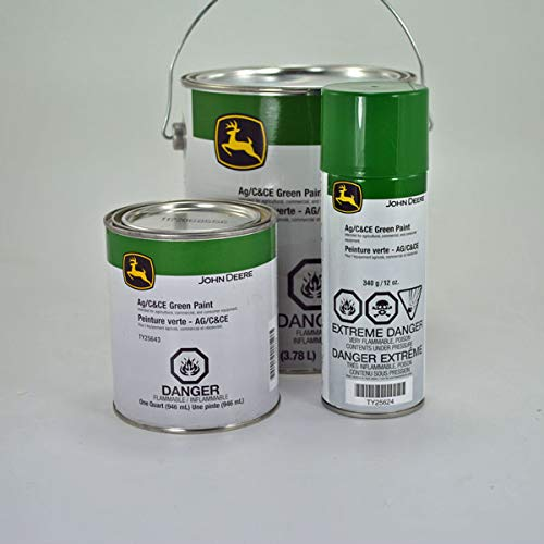 - John Deere Original Equipment Green Spray Paint #TY25624