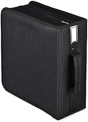 GWXJZ Estanterías para CD DVD Estuche de CD portátil 320 Paquetes de CD/DVD Bolsa de Disco de Coche Paquete de Acabado de CD Caja de Almacenamiento de Gran Capacidad: Amazon.es: Hogar