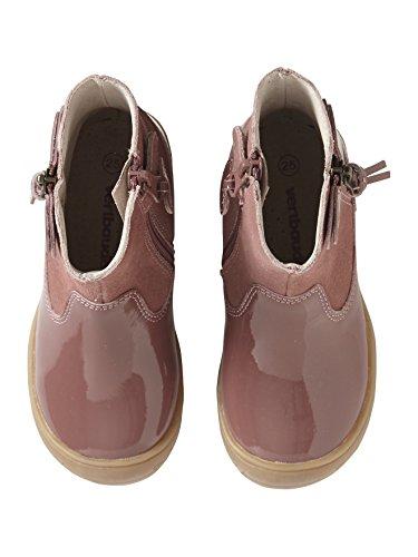 Vieux Maternelle Cuir Collection Rose Vertbaudet Fille Boots IwXq50z