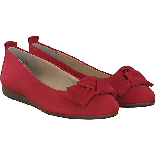 Donna 2338 022Ballerine Paul Green Rosso WD2EH9I