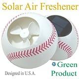 SOLAR POWER Earth Friendly Air Freshener (Baseball)