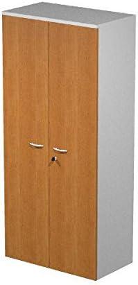 Ideapiu Mueble con armazón Gris Aluminio con Puertas Haya.: Amazon.es: Hogar