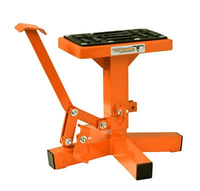 - Pit Posse Motorcycle Dirt bike MX Offroad Lift Stand Orange KTM 250 125